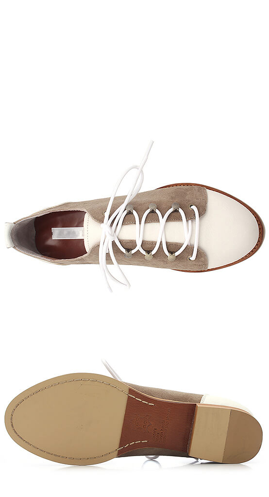 Shoes lace styles 4 holes