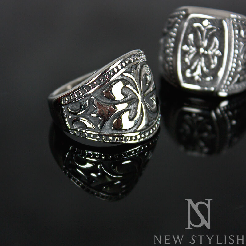 Accessories Engraved Metal Wide Ring 27 For Only 19 00