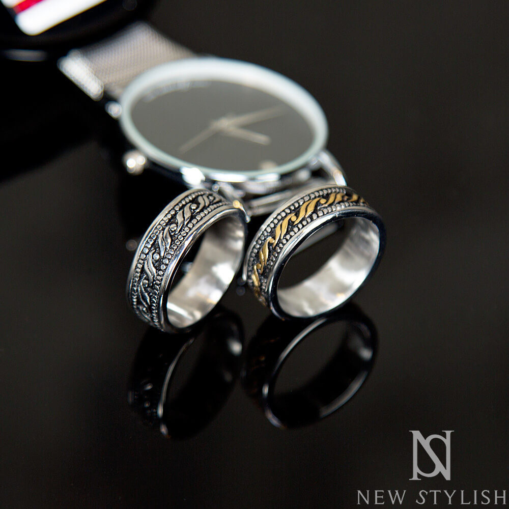 Accessories Wave After Wave Chrome Ring 31 For Only 16