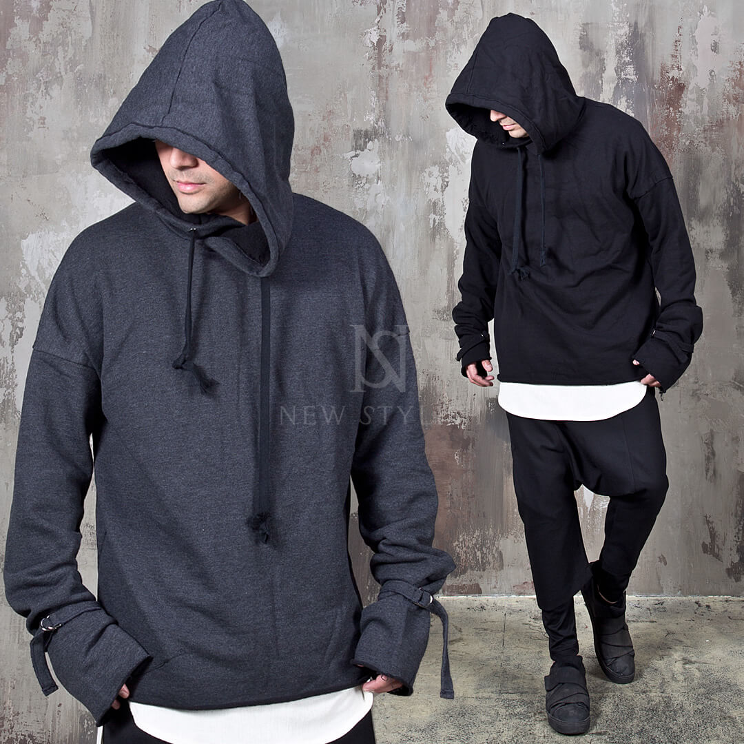 ★SOLD OUT★ Extra long sleeves big hoodie 156
