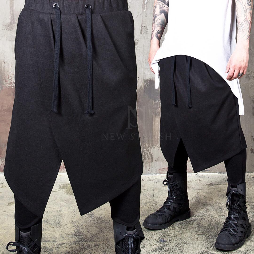 Black metal clothing store