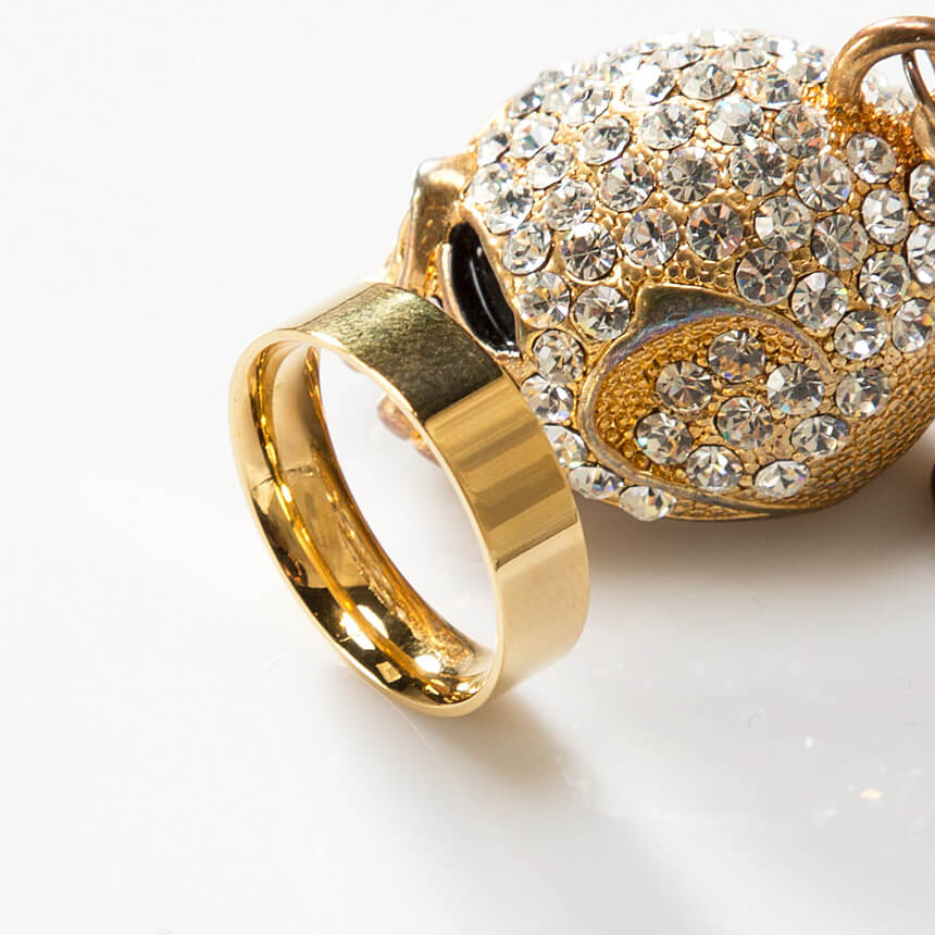 Accessories Plain simple gold ring 45 for only 17 00