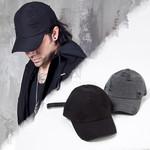 Distressed long strap ball cap