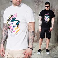 face printed t shirts