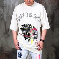 skull indian printed t shirts