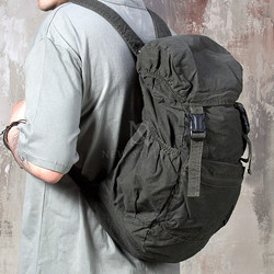 military cotton backpack