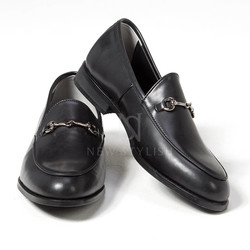 metal clip u-tip shoes