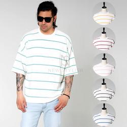 striped loose shirts