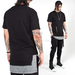 Side opening zipper pocket shirts