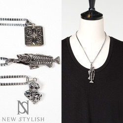 Chunky Street fashion Inspired stainless chain necklace