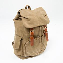 Multiple pocket sand backpack