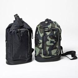 Multiple zipper pocket mini sling bag