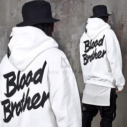 Cool lettering printed hoodie