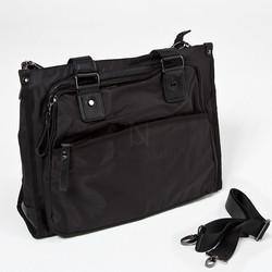 One big pocket black tote bag