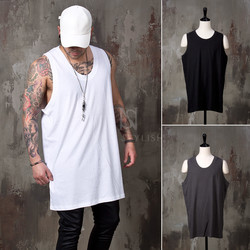 Plain loose long tank