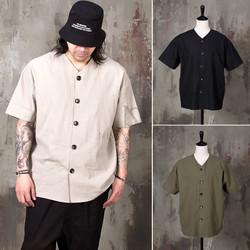 Oriental vibe short sleeves linen jacket - 335