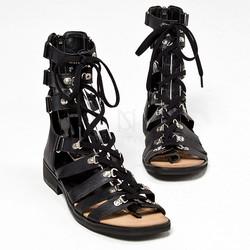 Lace-up modern gladiator sandals