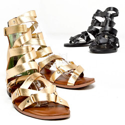 Luxurious gladiator sandals