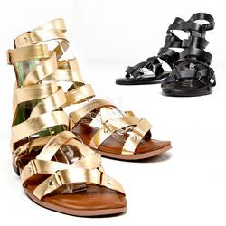 Luxurious gladiator sandals