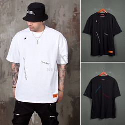 Embroidery accent t-shirts