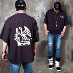 California eagle printed t-shirts