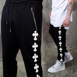 Celtic cross patch sweatpants