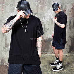 Side opening double layered t-shirts