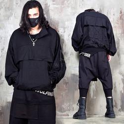 Oversized anorak batwing jacket - 337