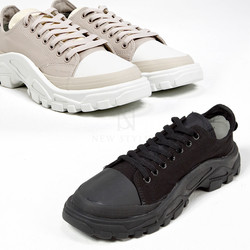 ubber gear sole lace up sneakers