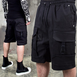 4 buckled cargo banding shorts