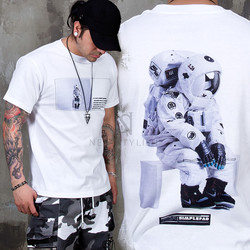 Astronaut printed t-shirts