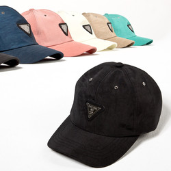 Lettering metal triangle ball cap - 37