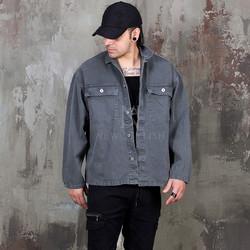 Pigment trucker jacket - 354