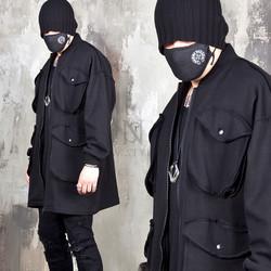 4 big pocket loose fit jacket
