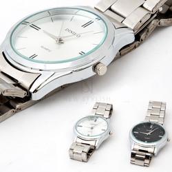 Simple metal watch
