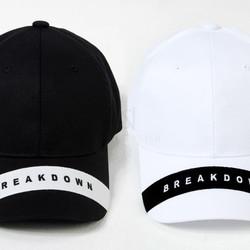 Contrast stripe ball cap