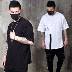 Webbing strap pocket t-shirts