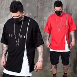 Long zipper t-shirts