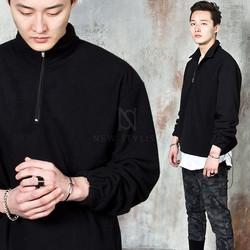 Fleece anorak shirts