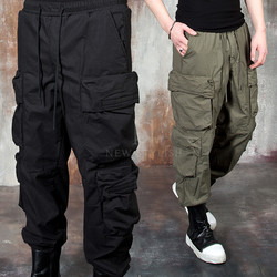 Volume cargo pocket baggy pants