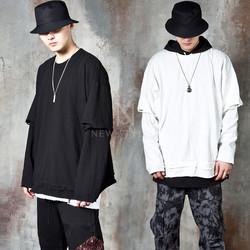 Plain layered t-shirts