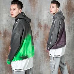 Distressed aurora hoodie