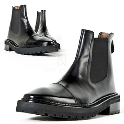3 way stitch lined chelsea boots