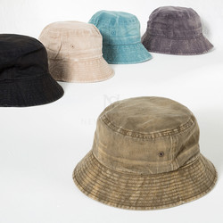 Washed cotton crusher hat