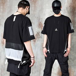 Multiple accent techwear t-shirts