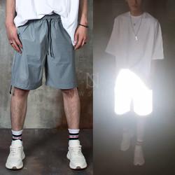 Full reflective banded shorts