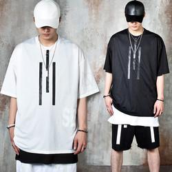 Triple lined mesh t-shirts