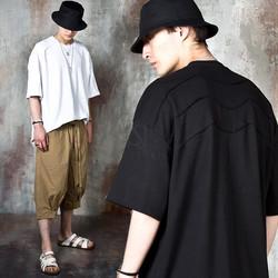 Triple seam oversized t-shirts