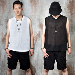 All mesh vest