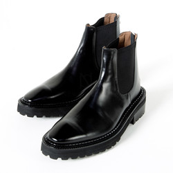 Cow leather chelsea boots